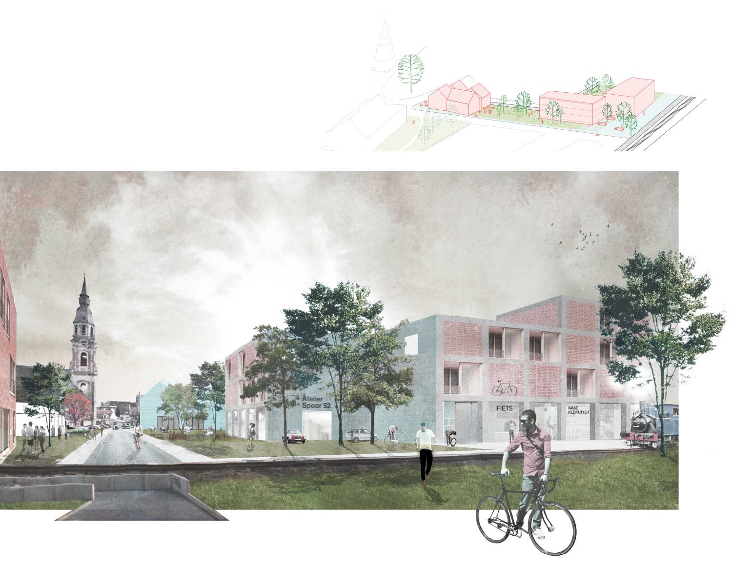 Delva landscape architects plusoffice puurs open oproep for Huis winnen