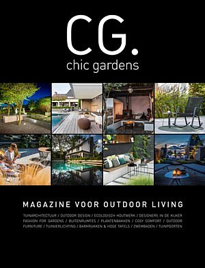 magazine voor outdoor living chic gardens